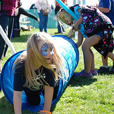 There always something new to do at the Skagit River Salmon Festival.